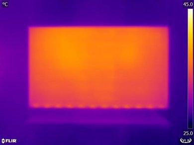 Samsung MU6100 Temperature picture