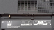 Sony A9G OLED Rear Inputs Picture
