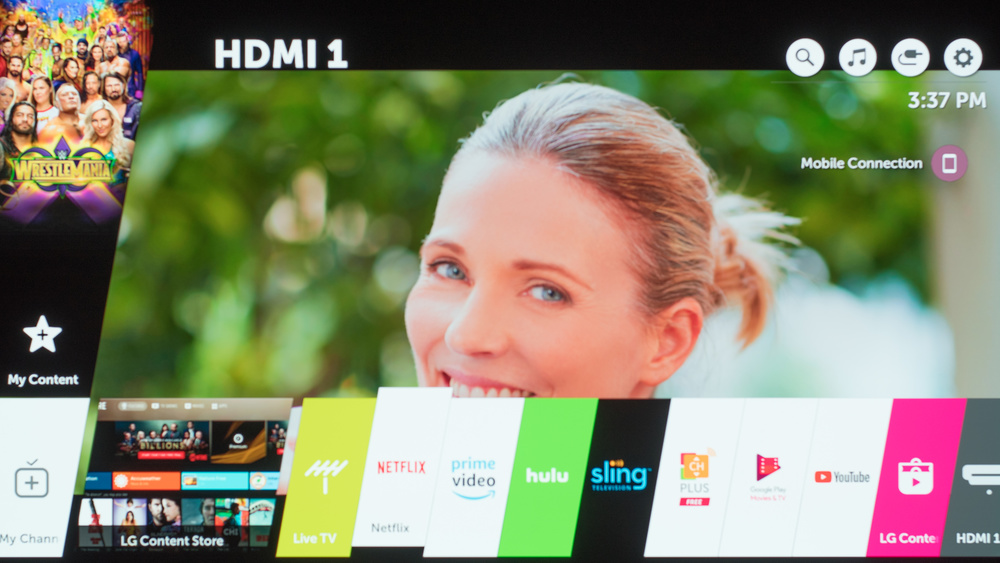 LG C8 Smart TV Picture