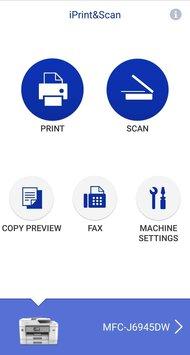 Brother MFC-J6945DW App Printscreen