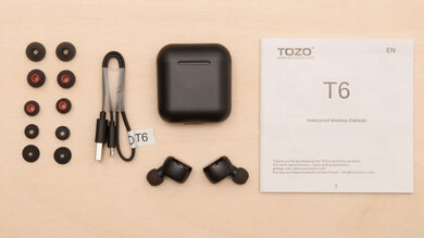 Tozo T6 Truly Wireless Review Rtings Com