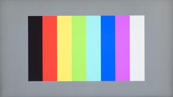 Dell UltraSharp U2721DE Color Bleed Vertical