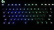 Logitech G Pro Mechanical Gaming Keyboard Brightness Min