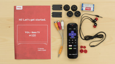 TCL C807 In The Box Picture