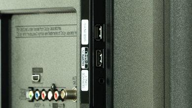 LG LB5600 Side Inputs