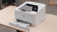HP Color LaserJet Pro M255dw Build Quality Close Up