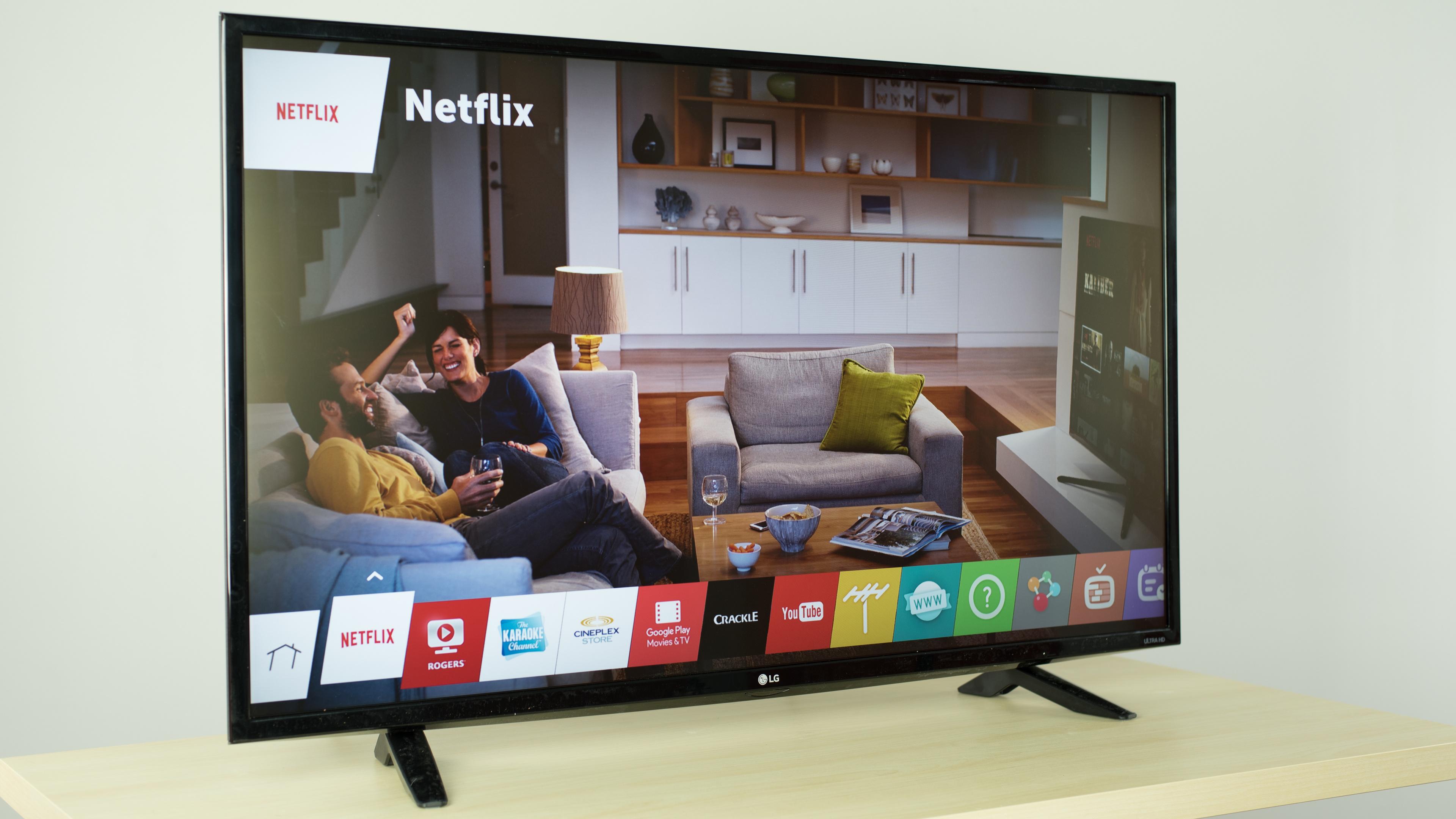 LG UF6400 Review (43UF6400, 49UF6400) - RTINGS com