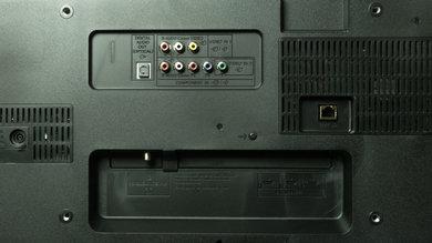 Sony W600B Rear Inputs