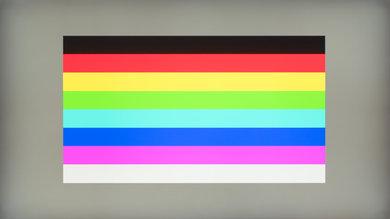 Philips Momentum 436M6VBPAB Color bleed horizontal