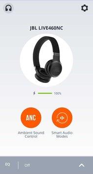 JBL Live 460NC Wireless App Picture