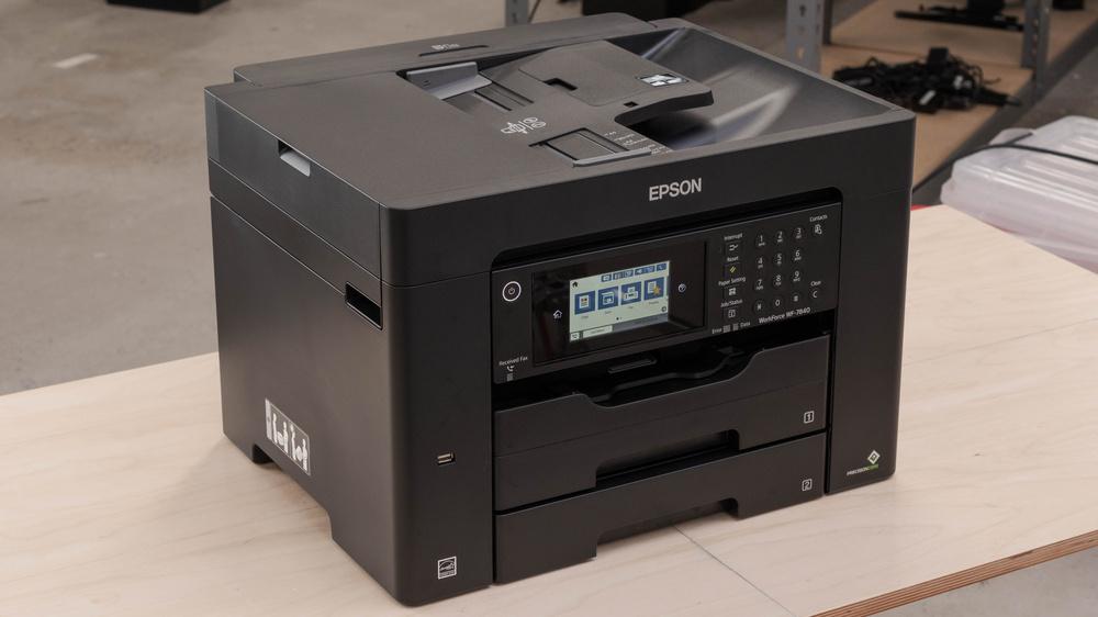 Epson WorkForce Pro WF-7840 Picture