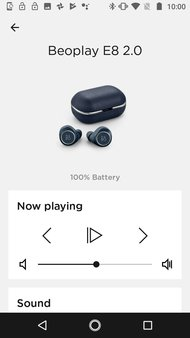 Bang & Olufsen Beoplay E8 2.0 Truly Wireless 2019 App Picture