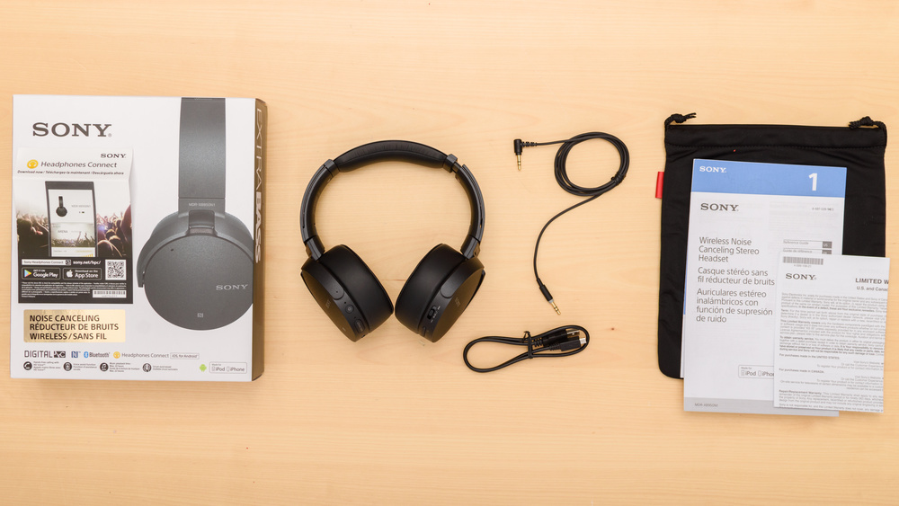 Sony MDR-XB950N1 Wireless In the box Picture