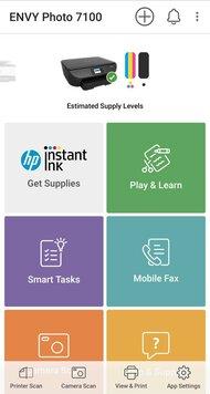 HP ENVY Photo 7155 App Printscreen