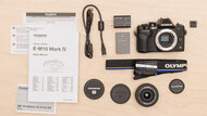 Olympus OM-D E-M10 Mark IV In The Box Picture