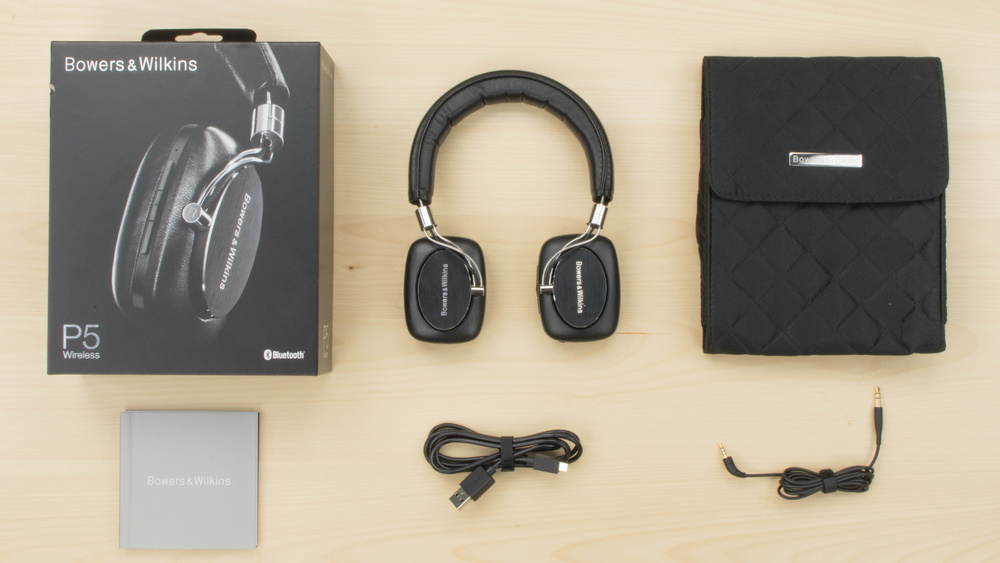 Bowers & Wilkins P5 Wireless In the box Picture