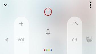 Samsung MU7600 Remote App Picture