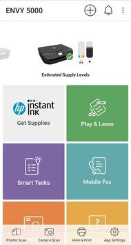 HP ENVY 5014 App Printscreen