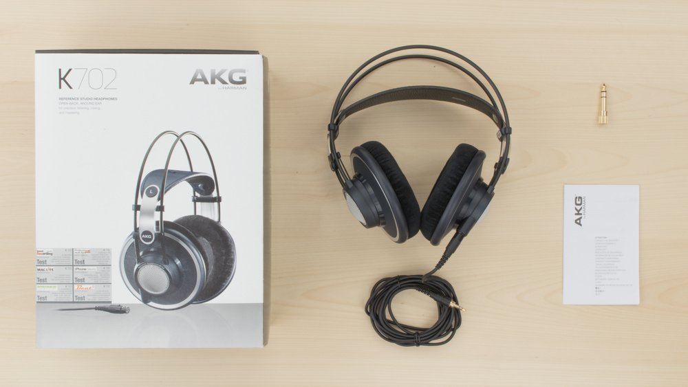 AKG K702 In the box Picture