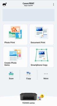 Canon PIXMA TS3520 App Printscreen