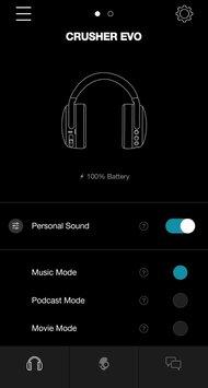 Skullcandy Crusher Evo Wireless App Picture