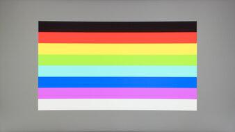 Samsung C27RG5 Color Bleed Horizontal
