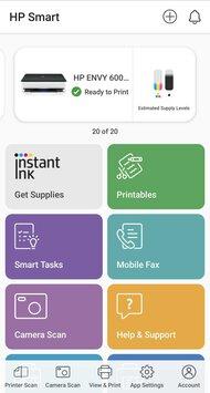 HP ENVY 6075 App Printscreen