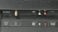 Vizio D Series 1080p 2017 Rear Inputs Picture