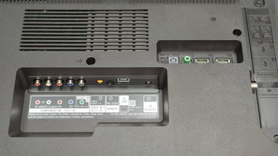 Sony X800E Rear Inputs Picture