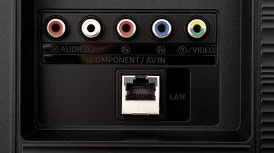Samsung RU7100 Rear Inputs Picture