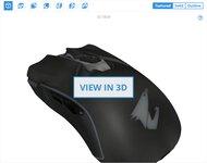 Gigabyte AORUS M5 3D Model