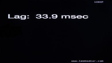 LG LB6300 Input Lag