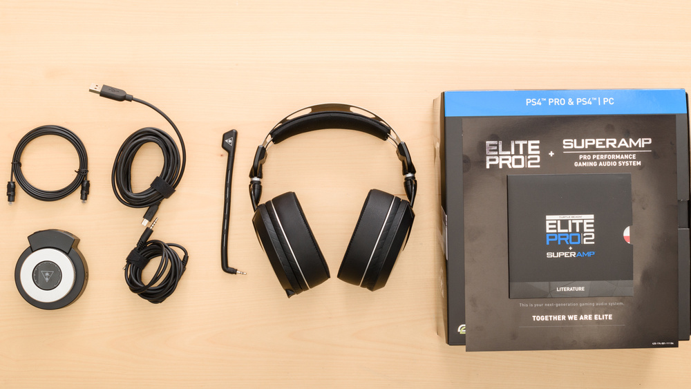 Turtle Beach Elite Pro 2 SuperAmp In the box Picture