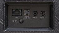 Hisense U8G Rear Inputs Picture