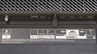 Sony A80J OLED Rear Inputs Picture