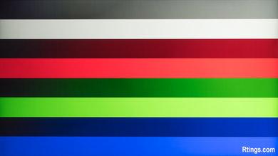 Sony X800D Gradient Picture