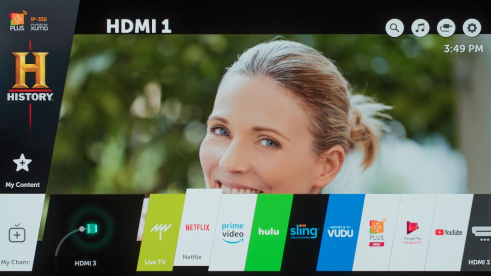 LG E8 Smart TV Picture