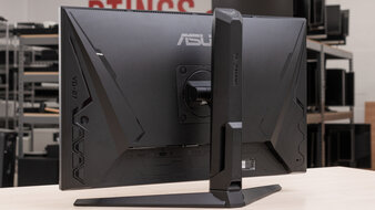 ASUS TUF Gaming VG27AQL1A Back Picture