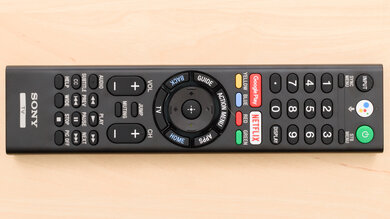 Sony X830F Remote Picture