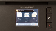 Brother HL-L2395DW Laser Display Screen Picture