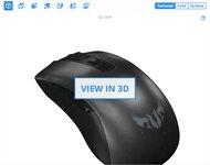 ASUS TUF Gaming M3 3D Model