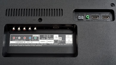 Sony X750F Rear Inputs Picture