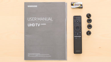 Samsung NU8000 In The Box Picture