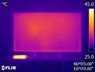 Sony X900E Temperature picture