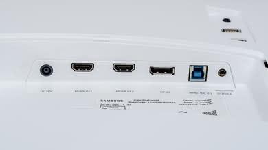 Samsung C34F791/CF791 Inputs 1