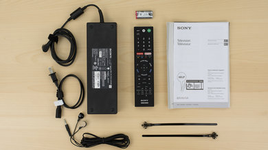 Sony X900E In The Box Picture
