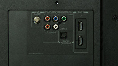 Toshiba L1400U Rear Inputs