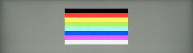 Dell U4919DW Color bleed horizontal