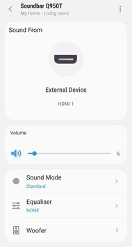 Samsung HW-Q950T App image