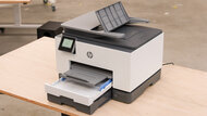 HP OfficeJet Pro 9025e Build Quality Close Up